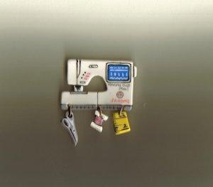 Ceramic Sewing Machine Pin   JANOME MEMORY CRAFT 9000