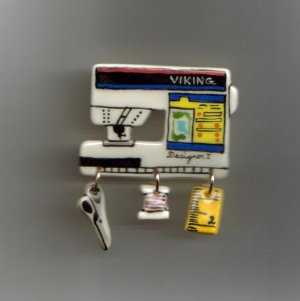 Ceramic Sewing Machine Pin    VIKING