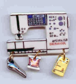 Ceramic Sewing Machine Pin    BERNINA  165