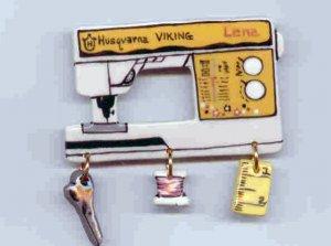 Ceramic Sewing Machine Pin    VIKING LENA