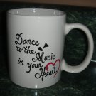 Personalized Mug  Dance to the Music in your heart