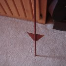 4 foot mounting rod for Whirligig  Garden Stake