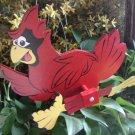 Whirligig  Red Cardinal Mascot Motif La