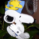Whirligig handcrafted Snoopy Dog and friend motion wind mobile