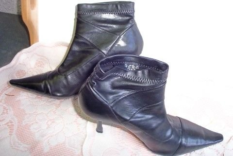 BCBG Paris 9B Buttery Soft 4� Heeled Ankle Boot  FREE SHIPPING!
