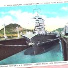 I.L Maduro Jr Maritime Panama Canal Post Card FREE SHIPPING!