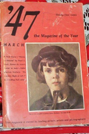 '47 THE MAGAZINE OF THE YEAR FIRST EDITION VOL 1  NO. 1 FREE SHIPPING!