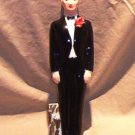 Jamar Mallory Ceramics Man In a Tuxedo / Groom FREE SHIPPING!