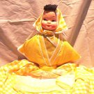 Vintage Rag Doll in Yellow Dress FREE SHIPPING!