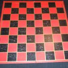 Checkers Game Board Vintage Milton Bradley