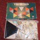 Trimino Game 1969 similar to Triominoes
