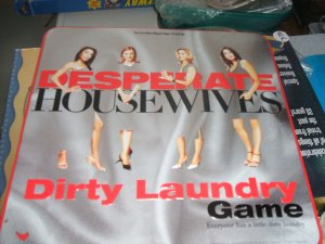 Desperate Housewives Dirty Laundry Game Unused 2005