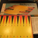 Backgammon & Acey-Deucy by Milton Bradley 1973