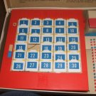 Concentration Game 1959 Plastic game board