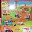 Raggedy Ann Game 1974 Board