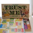 Trust Me Game Parker Brothers 1981 LIKE NEW