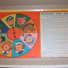 Raggedy Ann Game 1954 Spinner and rules