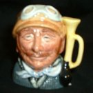 Character Jug Toby Royal Doulton Veteran Motorist Mini