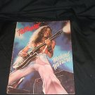 Ted Nugent Weekend Warriors 1979 Music Book