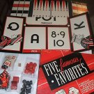 Five Famous Favorites Game Set Tripoley, HorseRace more