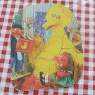 Vintage Wood 10 Piece Puzzle Sesame Street Big Bird