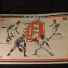 Two Matching Detroit Tigers Placemats 1982