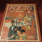 1976 Facts In Five Avalon Hill Bookshelf Game