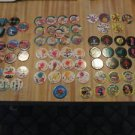 1994-5 Pogs Lot of 64 Exotics, Aliens, Wild Things (E)