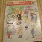 Vintage Golden Tray Puzzle 1988 Muppets Sesame Street