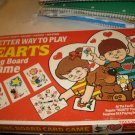 Hearts Playing Board Game Unused and Complete