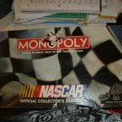 Nascar Monopoly Offical Collectors Edition 1997  Almost Complete
