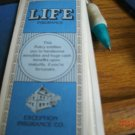 1982 Game of Life  - Life Insurance Certificate