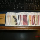 Clue Game 1972 Complete Set of Cards with no Envelope