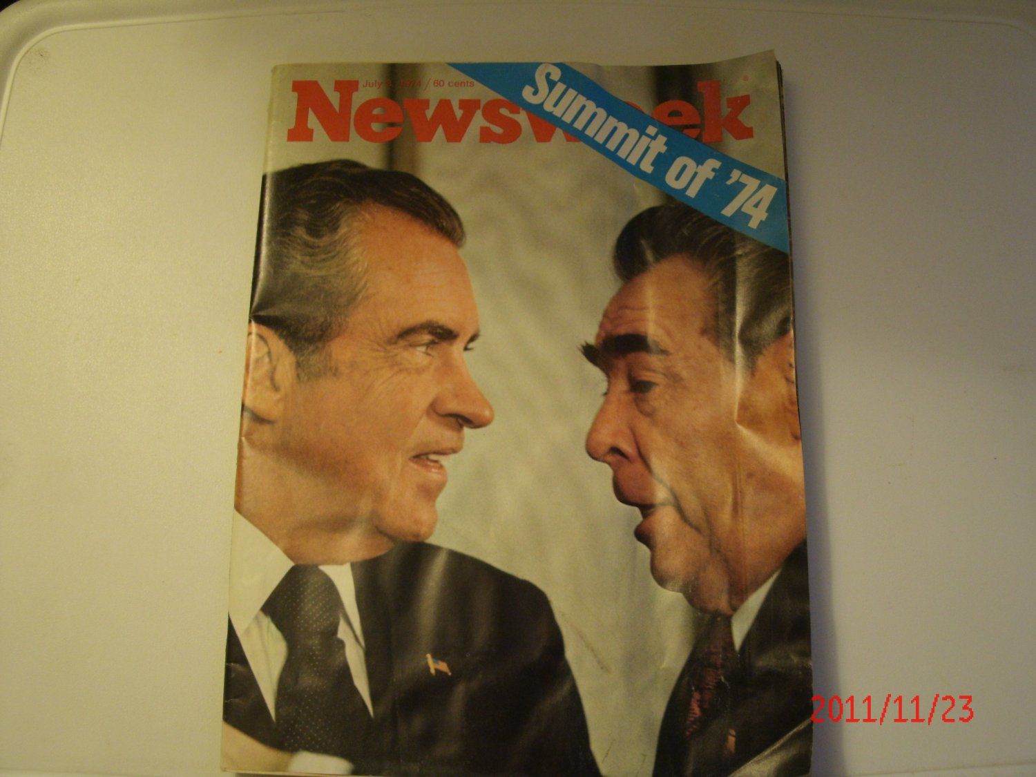 Buy newsweek magazine - July 8, 1974 Newsweek Magazine