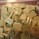 Scrabble Wood Tile Letter BLANK