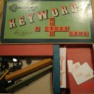 1953-1954 Parker Brothers Keyword Game A Cross Word Game