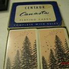 Centaur Double Deck Canasta Playing Cards Oldies