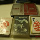6 Decks Playing Cards Advertising AAA, Oldsmobile, Northwest Orient, Snap-ON