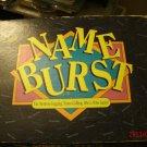 1992 Name Burst Game Complete