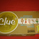 Clue Game 1972  With Replaced Confidential Envelope