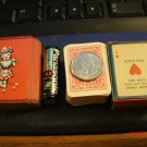 Vintage Deck of Miniature Playing Cards - 2 Different Sizes - Complete