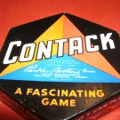 1939 Parker Brothers Contack Game Complete