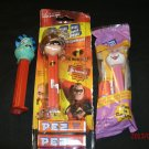 PEZ Dispenser Lot of 3, Easter Bunny, The Incredibles, She-Saur, 2 are MIB