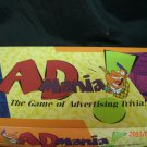 Ad Mania Game 1997 Advertising Trivia Ages 8 and up