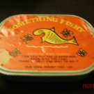 Vintage Something Fishy Sardine Can Puzzle Game NOT COMPLETE