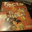 1971 Facts In Five Avalon Hill Bookshelf Game