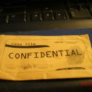 Clue Game Part  Confidential Envelope 2002 Modern style