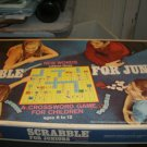 1968 Scrabble For Juniors Selchow & Righter Complete