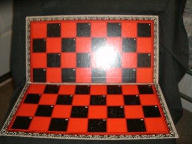 Checkers Game Board 1949 Milton Bradley