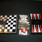 """Two Tiny Travel Magnetic Game Sets -  only 5"""" tall!"""